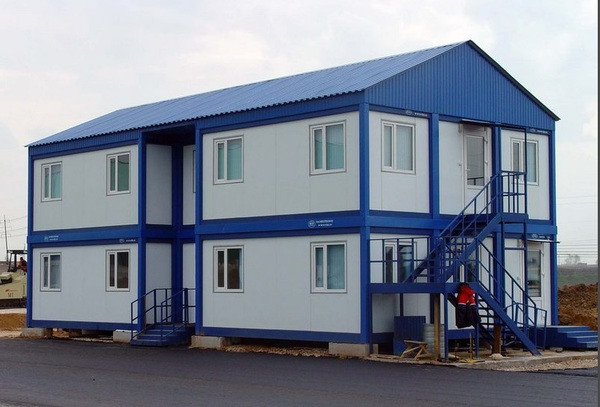 Модульные здания контейнерного